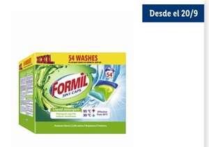 Detergente en capsulas 3 en 1 54 lavados El lavado sale a solo 0,15€