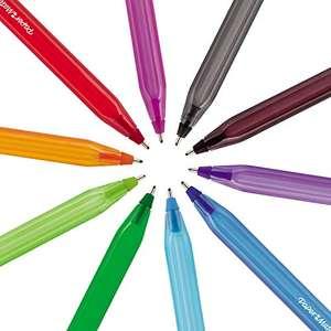 Pack de 27 bolígrafos surtidos de colores Paper Mate InkJoy 100ST punta mediana 1.0 mm