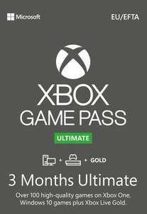 Xbox Game Pass Ultimate 3 Meses de Suscripción