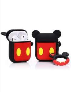 Airpods Carcasa de Silicona Mickey Mouse