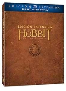 """Blu-Ray Película """"El Hobbit"""" Edición Extendida"""