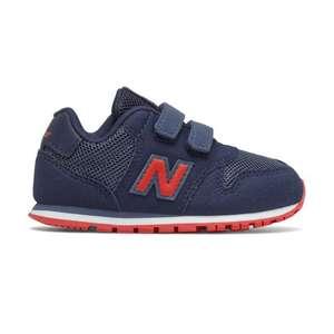 Zapatillas New Balance niños al 50% Talla 21