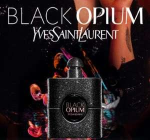 Muestra gratuita de colonia Black Opium de YSL