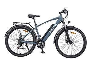Nilox 30NXEB275V002V2 - Bicicleta eléctrica E Bike 36V 7.8AH 27.5X2.10P - X7, Motor 36 V 250 W, batería Recargable Samsung de Litio 36 V