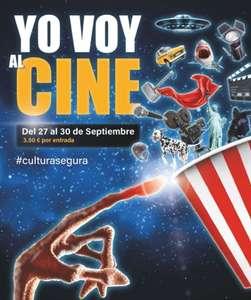 Entradas cine varias ciudades solo 3.5€