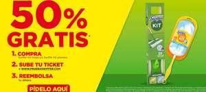 50% GRATIS en Swiffer Kit Mopa o Swiffer Kit Plumero