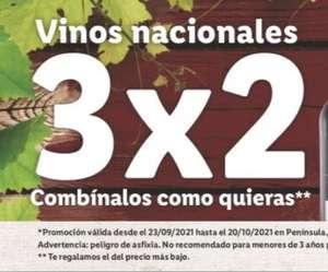 3x2 Vinos Nacionales - LIDL