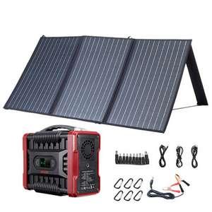 Paneles solares XMUND 100W 18V con central eléctrica - Desde Europa