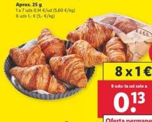 8 Cruasán de Mantequilla por solo 1€