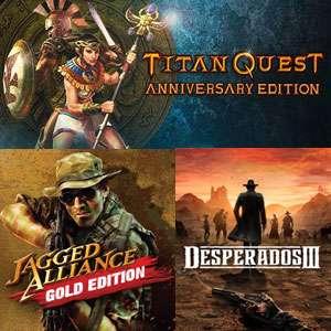 GRATIS :: Titan Quest Anniversary Edition y Jagged Alliance 1: Gold Edition   y además juega Desperados III   STEAM