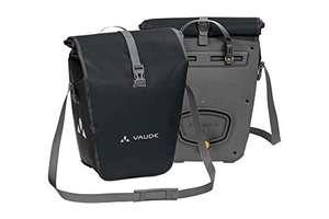 VAUDE Aqua Back: Juego de 2 bolsas para bicicletas adaptables a la carga e impermeables