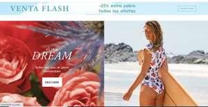 Venta Flash -25% extra sobre todas las ofertas.