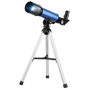 Telescopio Refractivo 50/360mm con Trípode