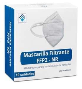 2X1 pack 10 uds. Mascarillas FFP2 Techealth