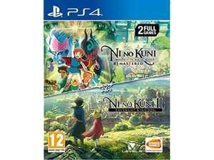 Ni No Kuni 1 + 2 PS4 en Media Markt (eBay)
