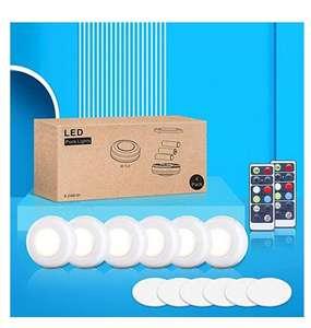 6 Luces de Armario LED