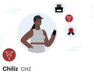 COINBASE - $3 en Chiliz (CHZ)