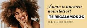 Druni , 3€ de descuento en la próxima compra por suscribirse a la newsletter