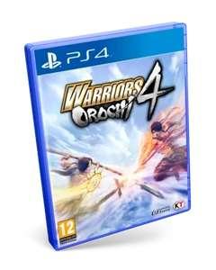 Warriors Orochi 4 ps4 9.99€, y en Switch a 14.99€