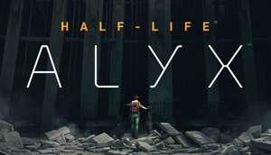 Half-Life: Alyx solo para RV.