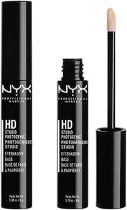 NYX Professional Makeup Prebase de sombra de ojos High Definition Base, 2 unidades, Fórmula de larga duración