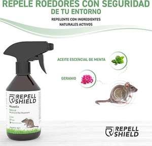 Repelente para Ratas de Exterior e Interior con Aceite escencial de Menta y Canela - Alternativa Natural a Repelente, 250ml