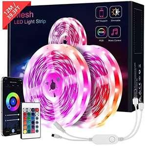 12M Tiras LED SMD 5050 Bluetooth (2x6M)