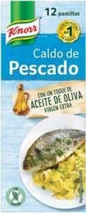 Knorr Caldo Pescado con un toque de aceite de oliva. 12 Pastillas, 120g
