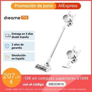 Aspiradora Dreame T10 (Desde aliexpress Plaza)
