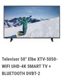 "Televisor 50"" Elbe XTV-5050 4K"