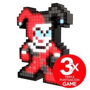 Figura con iluminación HARLEY QUINN Pixel Pals + Triplete de puntos