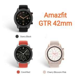 Amazfit GTR 42mm AMOLED 3 colores [desde ESPAÑA, con monedas 64,95€]