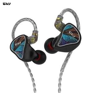 Nuevos auriculares híbridos (1DD + 1ba) CVJ Angel Wings