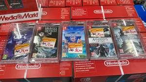 Diferentes juegos nintendo switch