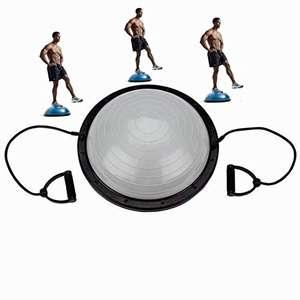 Fitness Board con bandas de resistencia