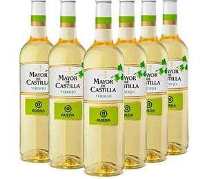 Vino Blanco D.O Rueda - Mayor de Castilla Verdejo (6 botellas x 750 ml)