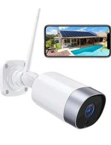 Cámara de Vigilancia WiFi Exterior, 1080P, IP66