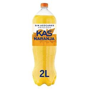 2 litros Kas Naranja sin azucares añadidos