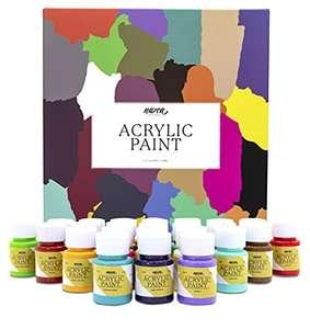 Set de Pintura Acrílica Nazca Colors - 24 Colores x 30 ml - Ideal para todas superficies!