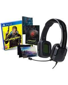 Pack PS4 Cyberpunk 2077 Edición Day One + Auriculares Tritton Kunai