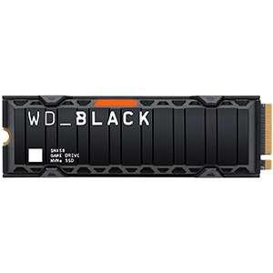 WESTERN DIGITAL SN850 M.2 1TB PCI EXPRESS 4.0 NVME - DISIPADOR - PC - PS5 - DISCO DURO