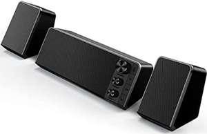Altavoces PC Sobremesa Bluetooth 5.0, 10W Subwoofer. Controles Separados para Volumen