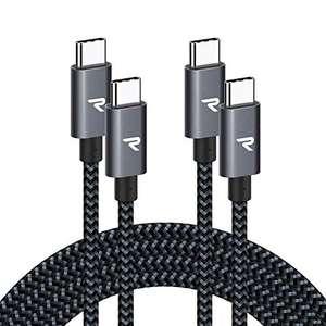 2 Cables USB C a USB C 2M [20V/3A 60W]