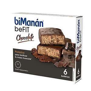 Barritas de Proteína Sabor Chocolate BiManán
