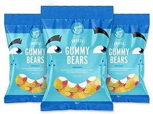 Marca Amazon - Happy Belly Ositos de gominola Paquete de 3 x 1000g