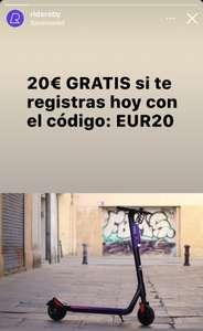 Reby 20€ al registrarse