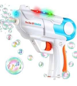 Niñ@s,Pistola de Burbujas de Jabón con Luz y Música,