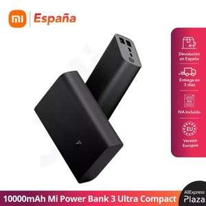 Xiaomi powerbank 10000mAH (Disponible día 24)