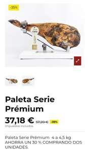 paletas serie premium 4~4,5kg Huelva compra mínima 2