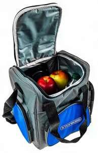 Nevera portátil de 16 litros, bolsa térmica térmica de nevera para coche, camping y exterior, con asa de 12 V